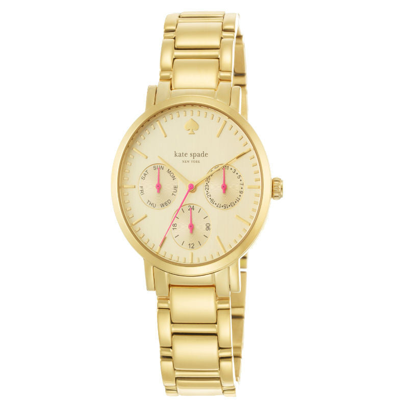 Kate Spade Gramercy Day & Date 24 Hour 1YRU0469 Watch (New with Tags)