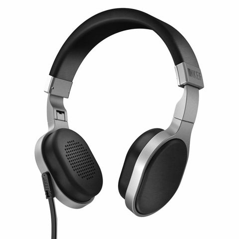 KEF M500 SP3821BA Headphones (Black/Silver)