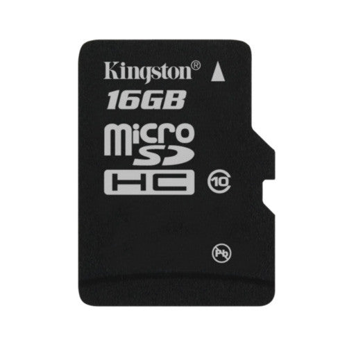Kingston 16GB T-Flash/Micro SDHC (Class 10) with Adapter