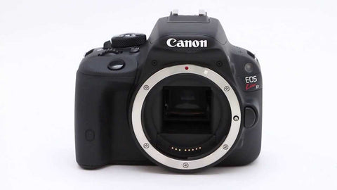 Canon EOS Kiss X7 Kit with EF-S 18-55mm f/3.5-5.6 IS STM Lens Black Digital SLR Camera