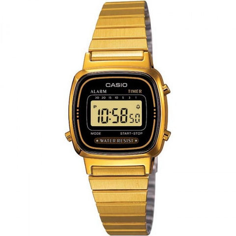 Casio Classic Enticer Digital LA-670WGA-1 Watch (New with Tags)
