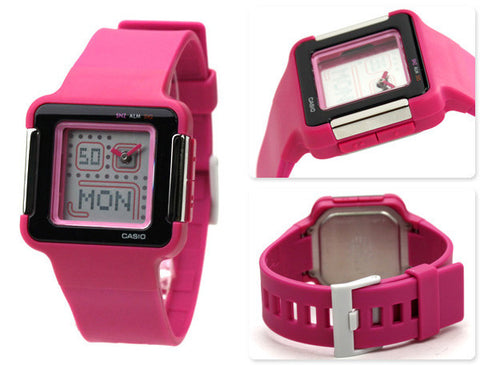 Casio Poptone Analog-Digital LCF-20-4DR Watch (New with Tags)