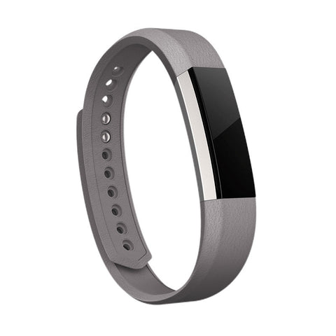 Fitbit Alta Leather Strap Only Large (Grey)