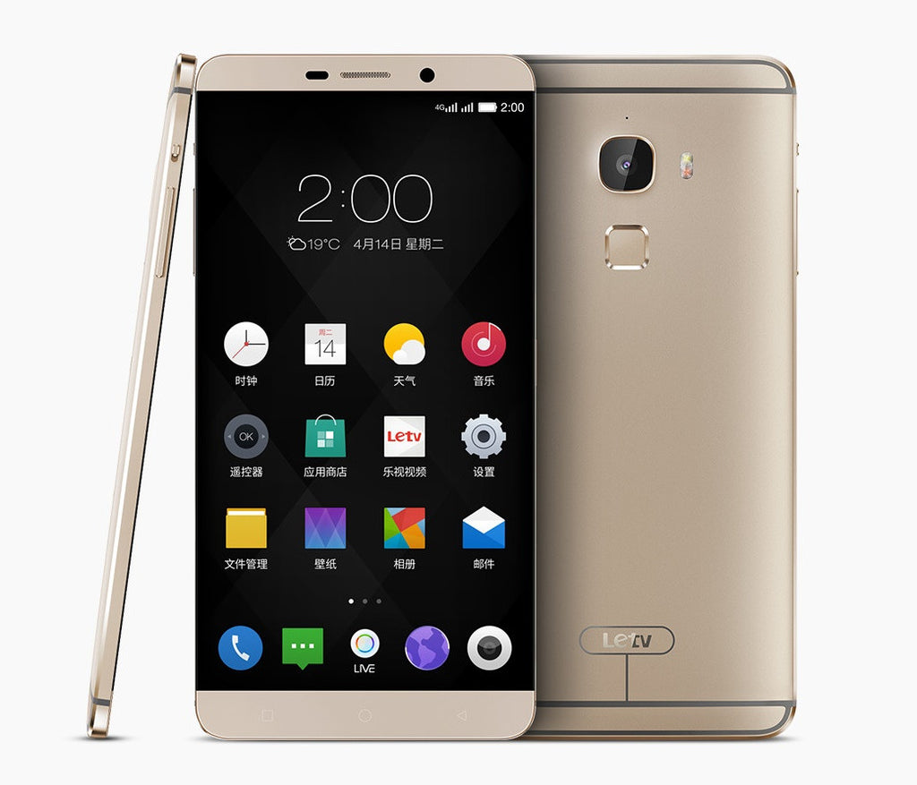 LeTV LeEco Le Max 64GB 4G LTE Gold Unlocked (CN Version)