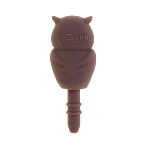 Bone Collection Owl LF11072-BR Ear Cap (Brown)
