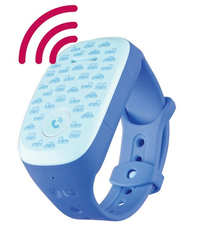 LG Kizon W105T Tracking Device (Blue)