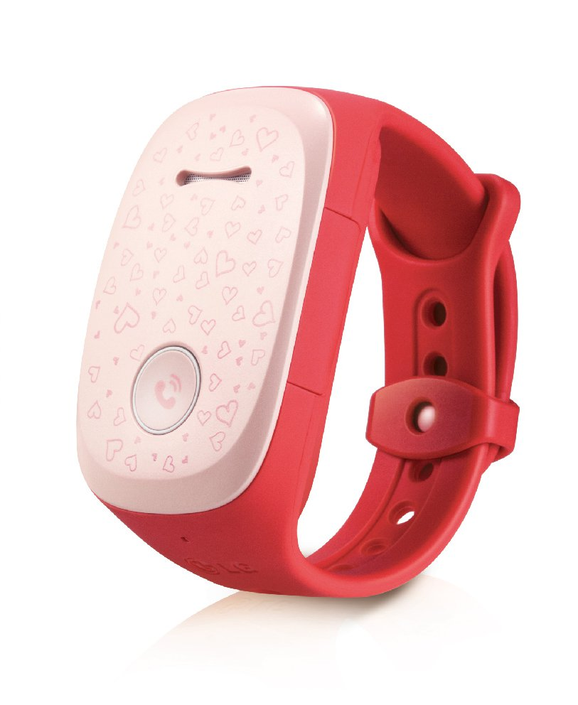 LG Kizon W105T Tracking Device (Pink)