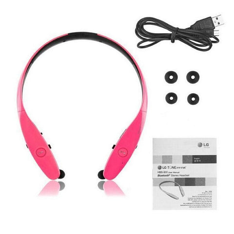 LG HBS-900 Tone Infinim Wireless Sterio Headset (Pink)