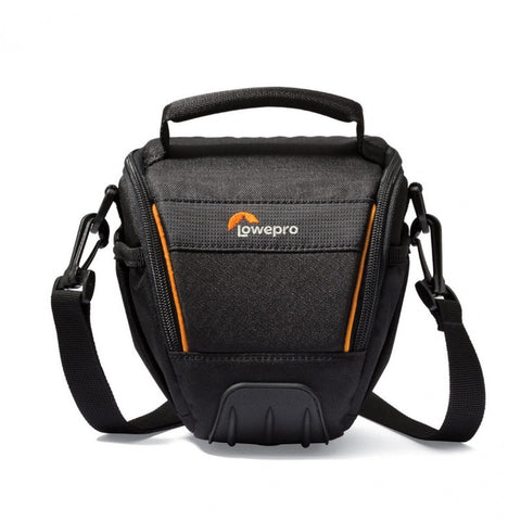Lowepro Adventura TLZ 20 II Top Loading Shoulder Bag for Compact System Camera with Lens (Black)