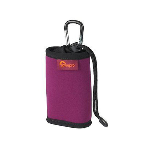 Lowepro Hipshot 10 Pouch for DSC or Flip Camcord (Cherry/Black)
