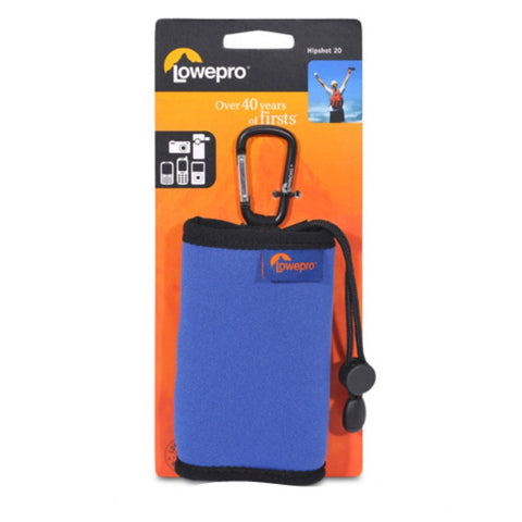 Lowepro Hipshot 20 for any small hand held devices (Royal Blue/Black)