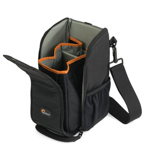 Lowepro S&F Lens Exchange Case 200 AW (Black)