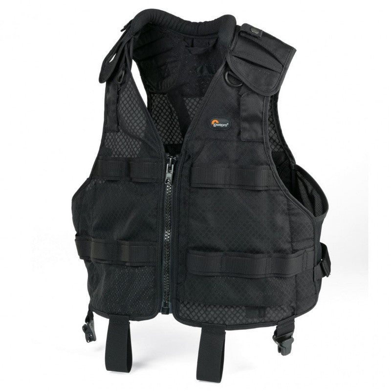 Lowepro S&F Technical Vest Belt S/M for Photographers (Black)