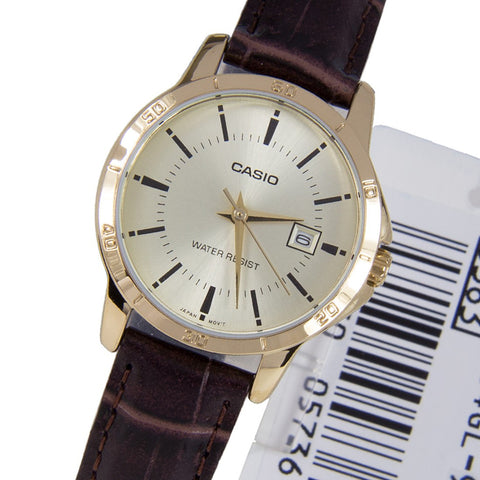 Casio Standard Analog LTP-V004GL-9A Watch (New with Tags)