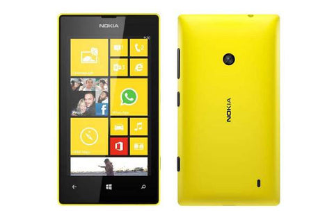 Nokia Lumia 525 Dual 8GB 3G Yellow Unlocked