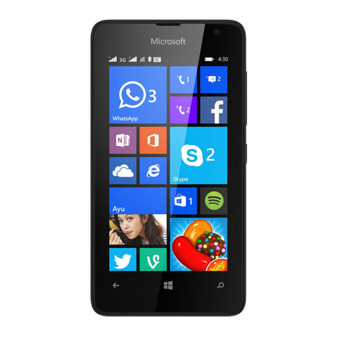 Microsoft Lumia 430 Dual 8GB 3G Black Unlocked
