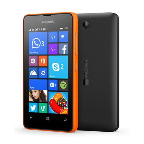 Microsoft Lumia 430 Dual 8GB 3G Orange Unlocked