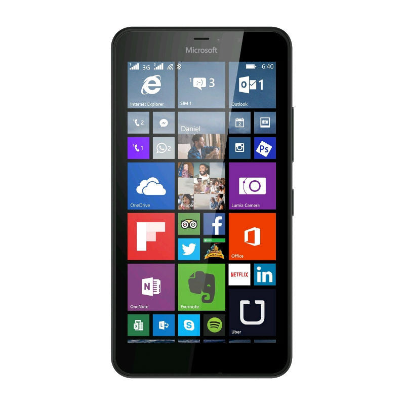 Microsoft Lumia 640 XL 8GB 3G Black Unlocked
