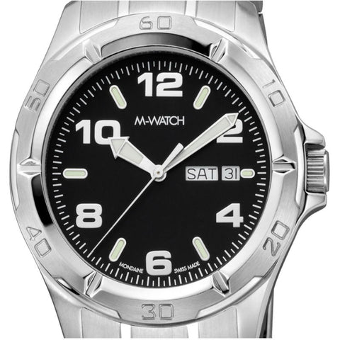 M-Watch Drive Day & Date A667.30616.02 Watch (New with Tags)