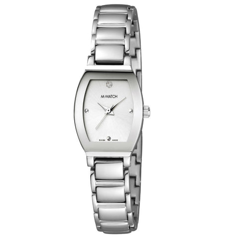 M-Watch Lady Chic Stone Set A658.30456.01 Watch (New with Tags)
