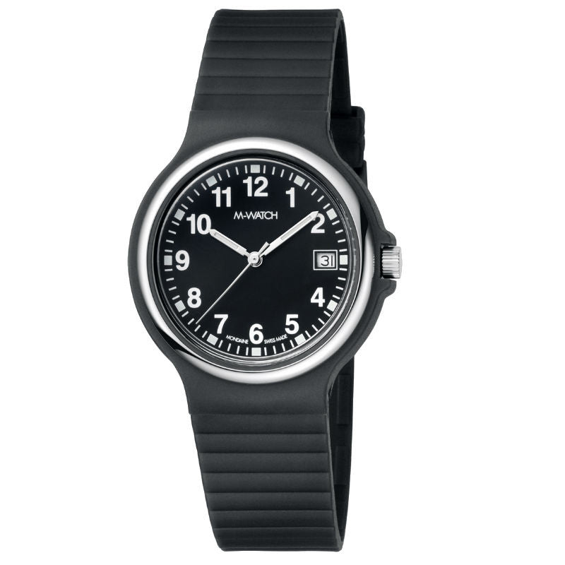 M-Watch Maxi Date A661MMA.22020BI Watch (New with Tags)