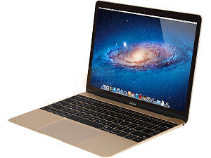 Apple MacBook with Retina Display 256GB 12inches Gold Laptop (MK4M2LL/A)