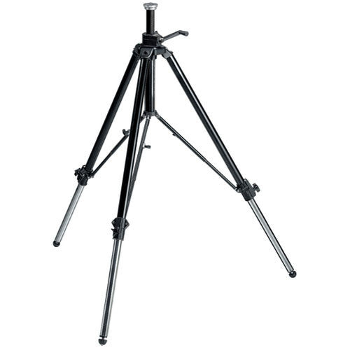 Manfrotto 117B Video and Movie Professional Tripod (Black)