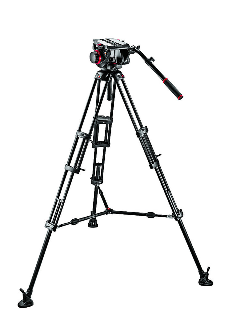 Manfrotto 509HD,545BK Pro Middle-Twin Kit 100