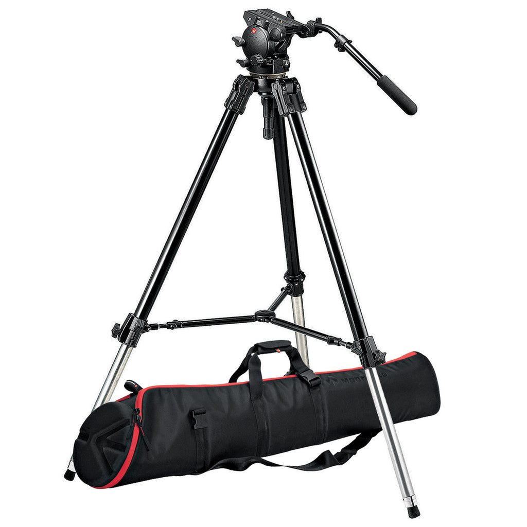 Manfrotto 526,528XBK Tripod Kit with 526 Head and MBAG120P Bag