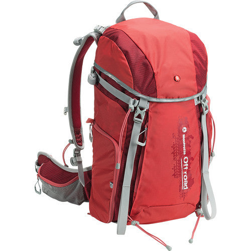 Manfrotto MB OR-BP-30RD Off Road Hiker 30L Backpack (Red)