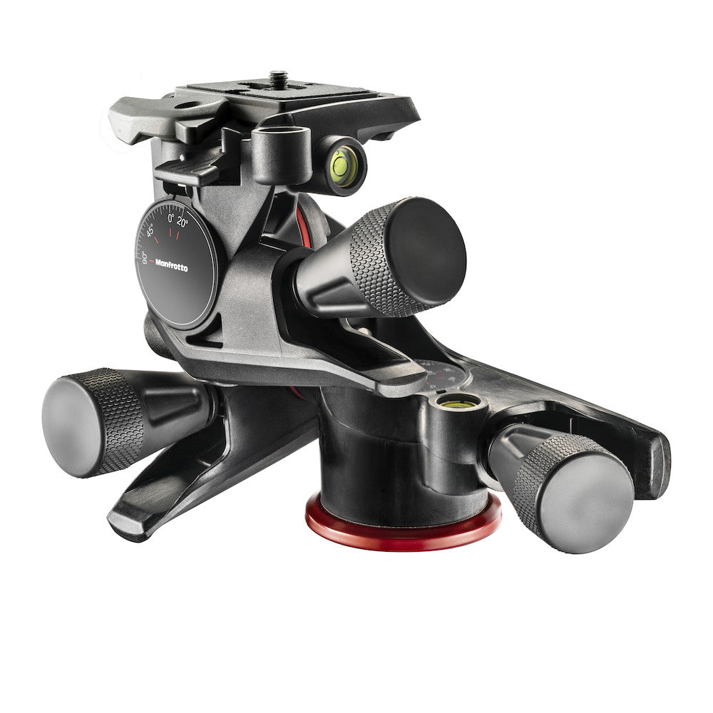 Manfrotto MHXPRO-3WG Geared 3 Way Head with Adapto Body