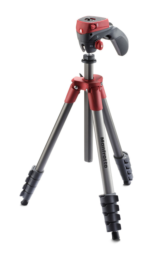 Manfrotto MKCOMPACTACN-RD Compact Action (Red)