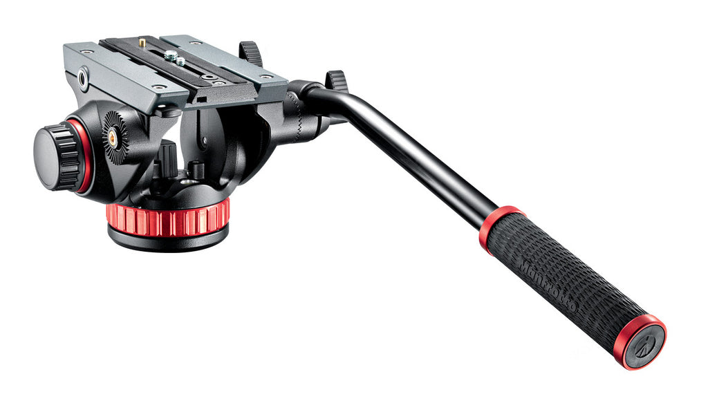 Manfrotto MVH502AH Professional Video Head Flat Base-MSize