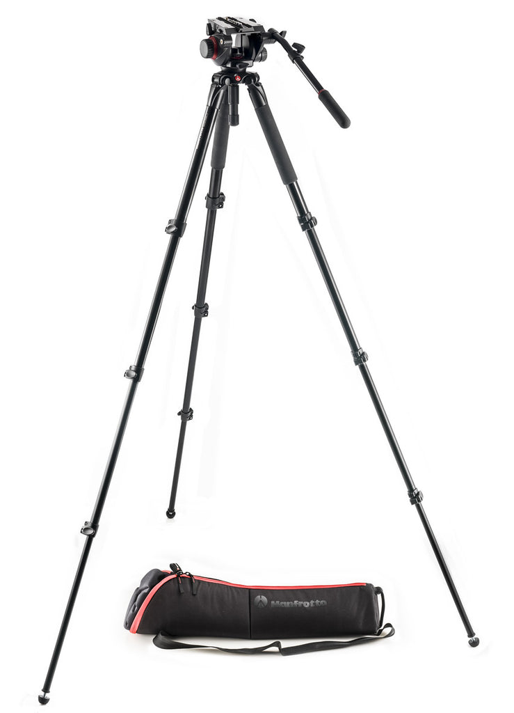 Manfrotto MVK504AQ 504 Aluminum Single Leg Video System
