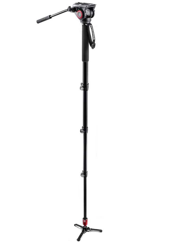 Manfrotto MVM500A Fluid Video Monopod with Head