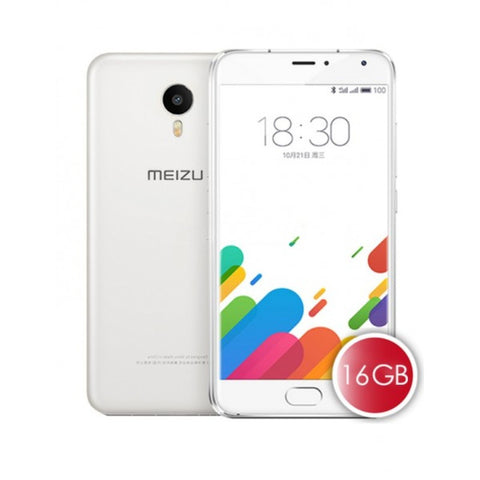 Meizu Metal Dual 16GB 4G LTE White Unlocked