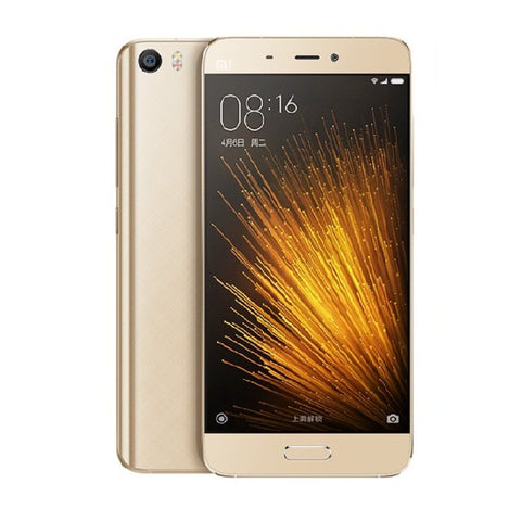 Xiaomi Mi 5 Dual 64GB 4G LTE Gold Unlocked (CN Version)