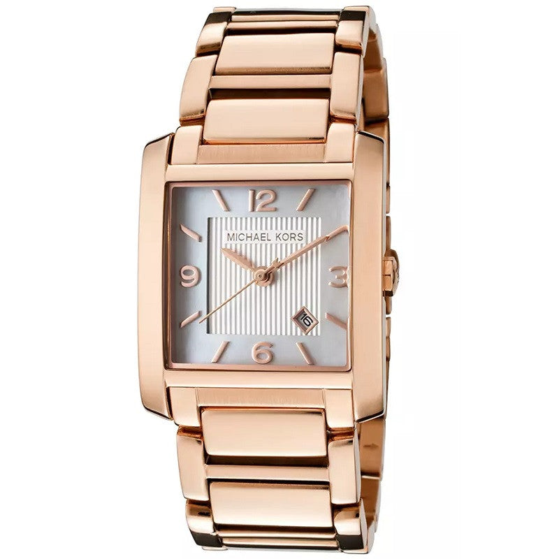 Michael Kors Rectangular MK3374 Watch (New with Tags)