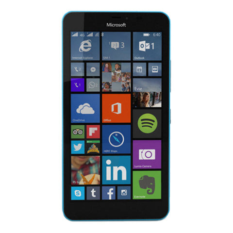 Microsoft Lumia 640 XL Dual 8GB 3G Blue Unlocked