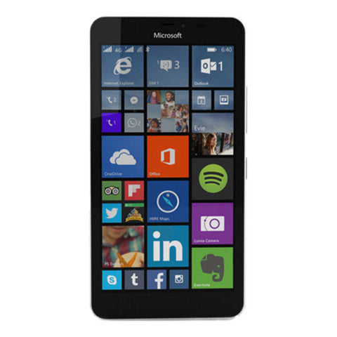 Microsoft Lumia 640 XL Dual 8GB 3G White Unlocked