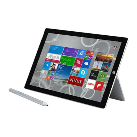Microsoft Surface Pro 3 Intel Core i3 64GB 4GB RAM Wi-Fi Silver