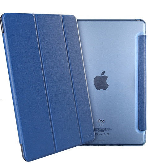 iPad Mini 4 Flip Cover with Hard Back Case (Sailor Blue)