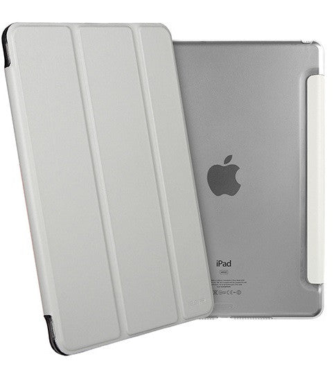 iPad Mini 4 Flip Cover with Hard Back Case (Galaxy Grey)