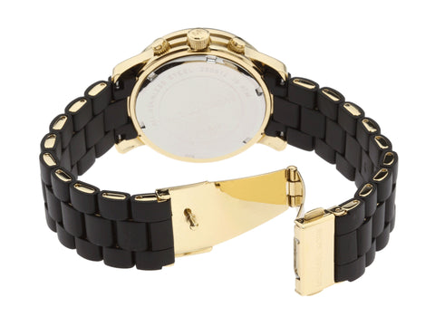 Michael Kors Black Catwalk Quartz Bracelet MK5191 Watch (New With Tags)