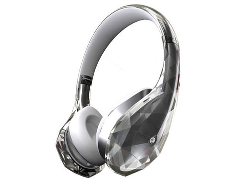 Monster Diamond Tears Edge White On-Ear Headphones