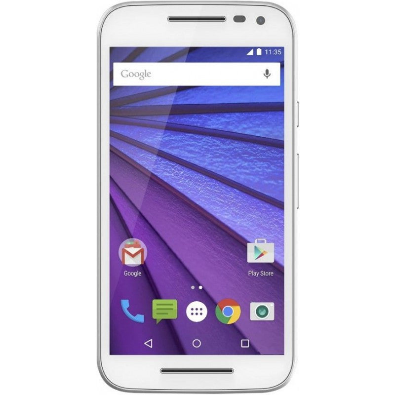 Motorola Moto G Turbo Dual 16GB 4G LTE White (XT1557) Unlocked
