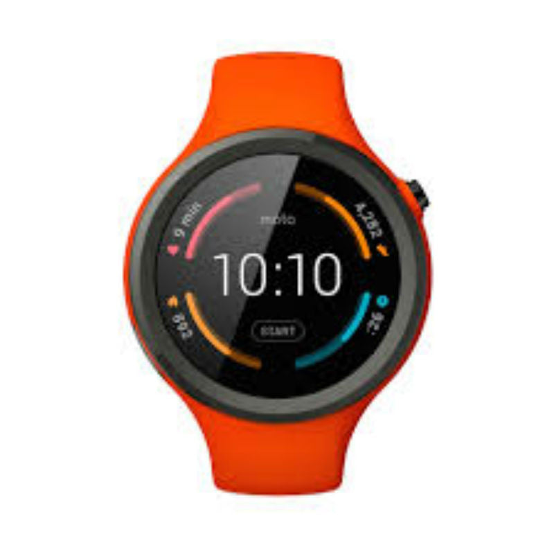 Motorola Moto 360 2nd Generation 46mm Sport Smart Watch (Orange)