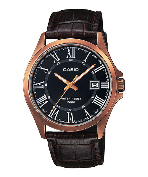 Casio Standard MTP-1376RL-1B Watch (New with Tags)