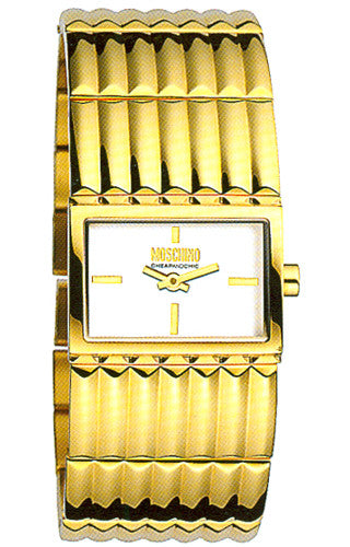 Moschino Cheap and Chic Read Between The Lines MW0365 Watch (New with Tags)