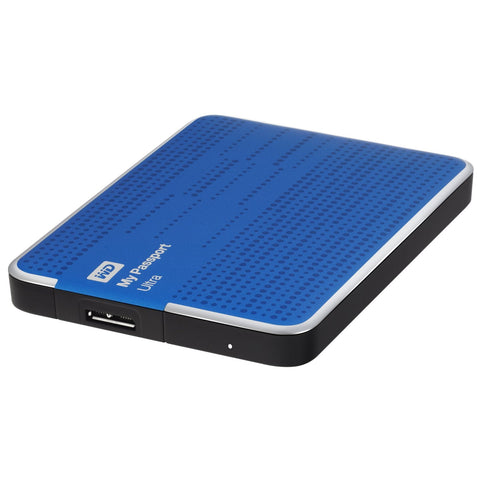 WD My Passport Ultra USB 3.0 500GB External Hard Drive (Blue) WDBWWM5000ABL-CE